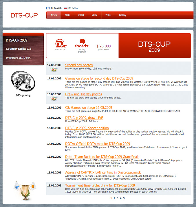 DTS-CUP